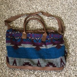 Handbags - Aztec style duffle bag